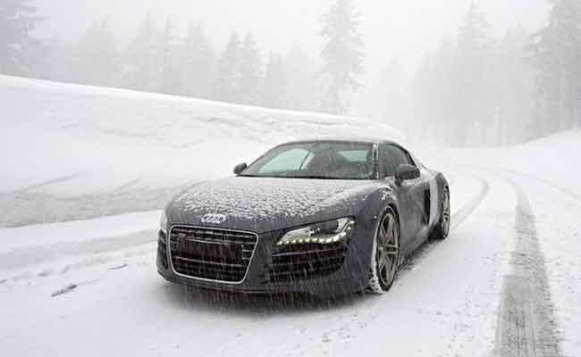 خودرو در زمستان