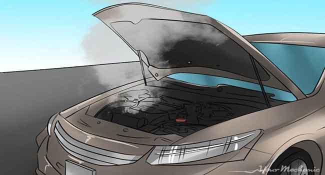 داغ کردن موتور
